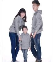 Sales 400gsm combed cotton blank hoodies with zipper customs women's sweatshirt kids sweatshirt warm lining
