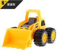CAT truck car toy ,6 inches bulldozer push dozer baby toys ,children truck toys