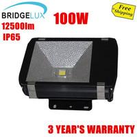 100W Led Flood Light For Outdoor Lighting/Advertisement,85-265V,Bridgelux 45mil chip,Warm white/Pure white/Cool white