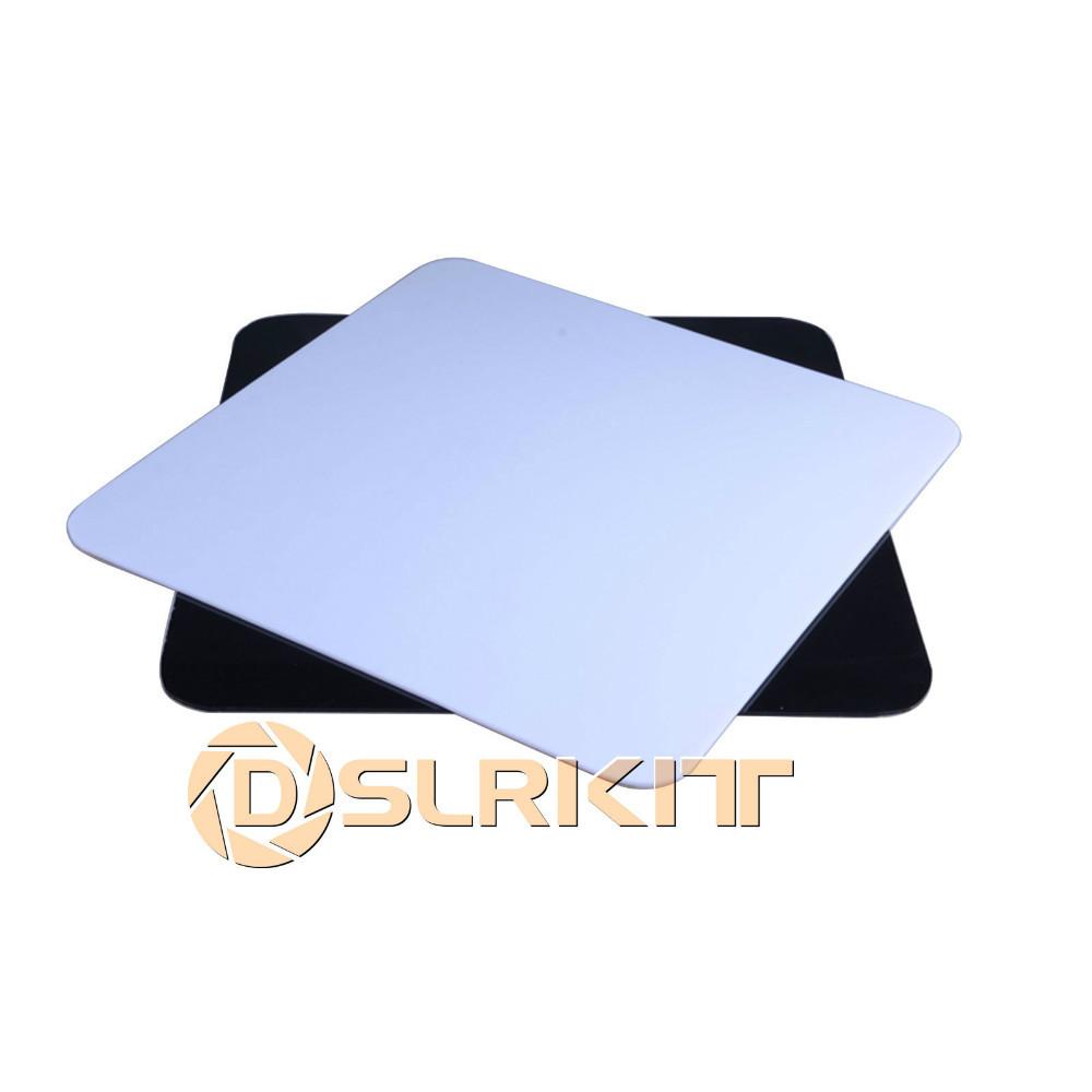 "2pcs White Black Photo Acrylic Studio Reflection Board Display 30x30cm(12""x12"")(China (Mainland))"