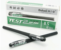 Unisex pen unisex pen 380 0.5mm resurrect black pen 12pieces