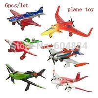 2014 New Sale 6Pcs/lot Dusty Crophopper 6cm-8cm PVC Figure Loose Pack Planes Toys Free Shipping