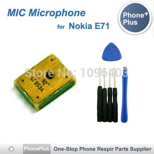 Для Nokia E71 Микрофон Микрофон Замена Частей С Инструментами Бесплатная Доставка nokia e71 tv деш вый бу