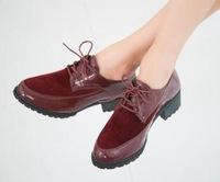 Martin boots women boots The new autumn boots Splicing point low with shallow mouth set foot low help shoes