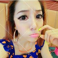 Hot Items !!! fashion neon color short compact cute little bar pendant chain Dainty necklace