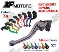CNC Short Brake Clutch Levers For Yamaha FZ1 FAZER FZ6R FZ8 XJ6 FZ6 MT-07 09 FZ-09