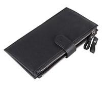 8057A  Wholesale China Manufacturer JMD man wallet 100% genuine leather black color large capacity