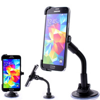Free shipping Car Windshield Stand Mount Holder Bracket for Samsung Galaxy S5 i9600 360 Rotation Stand holder