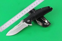 Wanderful Quality Free Shipping SanRenMU brand  LAND GB9-908 Model 440c blade G10 handle folding knife