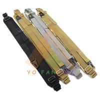Tactical 2 Points Padded Adjustable Rifle Gun Sling Military Heavy Duty Durable Nylon Webbing Gun Sling Belt Strap System