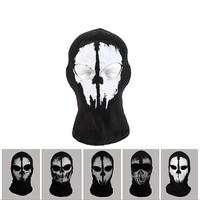 2014 Newest Call of Duty 10 Skull Full Face Mask Outdoor Ghost Bike Skateboard Hood Costume Skull Mask for Halloween