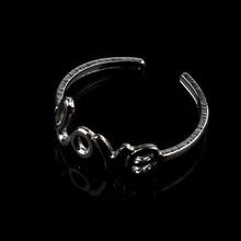 Newest Women Adjustable Love Silver Metal Toe Ring Foot Beach Jewelry I-eat
