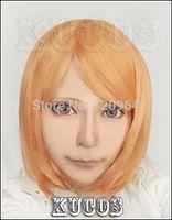 Titan Petra Rall Petora Raru cosplay Anime Costume Wig  Natural Kanekalon no Lace Front hair wigs Free deliver
