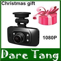 1pcs Christmas Free Gift Car DVR GS8000L Vehicle Camera Video Recorder Dash Cam G-sensor 2.7 inch screen HDMI Free Shipping!H18B