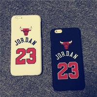 New 2014 Michael Jordan 23 chicago Bulls Phone Case For Apple iPhone 6 4.7inch High Quality Air Jordan Cover Capa Celular