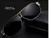 sunglasses polarized 2015 Best Quality Cycling driving sunglasses Coating Film aviator sunglass + box + cloth free shipping