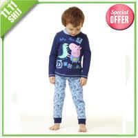 hot sale discount  0~5A branded kids clothes dinosaur peppa pig boy clothing sets wholesale  5set/lot children clothing