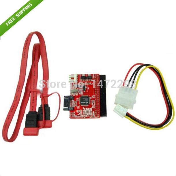 3pcs IDE/ PATA to S / Serial-ATA / SATA / IDE 100/133 HDD Converter / Adapter + Cable(China (Mainland))