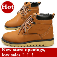 Free shipping 2014 New men's winter autumn boots wholesale trend Men boots retro boots trendy man Martin tooling boots