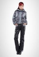 women's leopard print outwear fashion design hooded  coat,1 pcs retail for lady girl