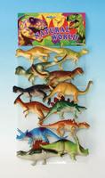 [12 pcs/set] high simulation dinosaur model toys eco-friendly safe hard plastic dinosaurs models 11-14cm toys for children