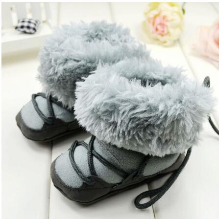 Sapatinhos de bebê de algodão acolchoado sapatos grossos sapatos da criança antiderrapante macio flexível sapatos confortáveis bebê botas(China (Mainland))