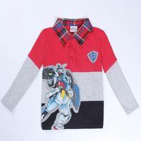 children t shirt boys clothing printed robots nova kids wear fashion clothes spring/autumn long sleeve t shirt for boys A5258