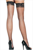FREE SHIPPING Sexy Mesh Lace Stockings Knee High Socks 7929