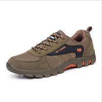 2014 New Original Brand Air Mesh Low-Heeled Breathable Wear-Resistant Male Multifunctional Casual Net Fabric Sports Hiking Shoes