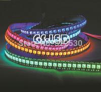 ws2811 5050 led strip 144leds rgb dc5V free shipping