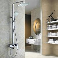 Shower Set Bathtub Faucet Torneira Good Quality Rainfall Bathrooom Plastic Shower Head 54000/4 Wall Mounted Faucets,Mixers &Taps