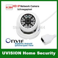 1.3 Mega pixel Mini IP Camera 720P P2P Securiy HD Network CCTV Camera indoor Network IP Camera ONVIF H.264 free shipping