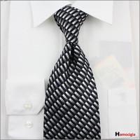 High quality brand fashion New Dyed Silk dress Neckties Widening men's business Neckties 3717