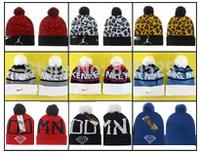 2014 New Fashion Beanie brand NK JD Diamond Caps Wool Knitted hat Winter Men Women cool pompon Beanies & skullies free shipping