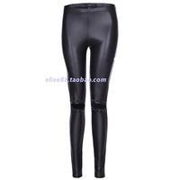 FOREVER XXI Hip Hop Punk Style Leather Like Leggings Pants