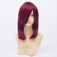 Nakamura Yuri Anime Cosplay Wig Natural Kanekalon no Lace Front hair wigs Free deliver