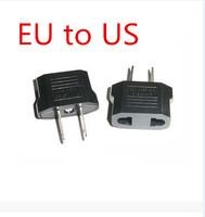 New arrive: 100pcs/lot EU To US Travel Charger AC Power Plug Adapter Converter wholesale