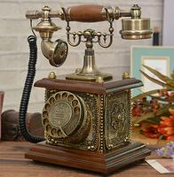 Free shippingRetro telephone rotating disk antique telephones Continental antique vintage antique retro telephone landline phone
