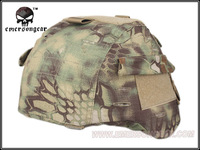 Army Military Equipment Airsoft Paintball Helmet Cover Combat EMERSON Tactical MICH Helmet Cover FOR:MICH2000 Kryptek Mandrake