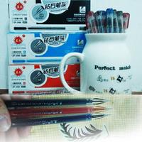 12pcs/lot creative stationery fresh Watercolor 0.38mm pen multicolor ink gel pens Diamond pen tip for office school wholesale