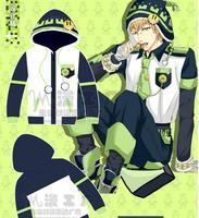 New DRAMAtical Murder DMMD NOIZ Anime cotton T-shirt Cosplay Hoodies Sweatshirts Free Shipping