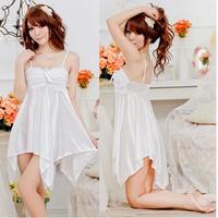 Mm viscose sleepwear viscose female nightgown plus size plus size lace silk sexy sleepwear xxxl