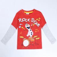 Children Clothes Boys' T Shirt Nova Brand Kids Wear Fashion Frozen Clothing Spring/Autumn Long Sleeve T Shirt For Boys