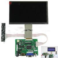 "9"" TFT LCD Display Module RGB HDMI VGA 2AV Driver Board for Raspberry Pi 12V CAR"