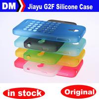 Original Jiayu G2F Silicone Case,TPU Case For Jiayu G2F  MTK6582 phone Transparent battery cover