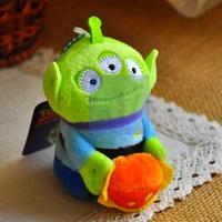 Christmas gift  Lovely toy Three eyed Monster Alien Plush Three eye Pendant for girl or boy Free shipping