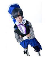 Black Butler III Book of Circus Ciel Phantomhive cosplay Anime Costume Female Costume New Gift