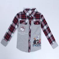 Children Shirts Boys Clothing Nova Brand Kids Wear Fashion Frozen Clothes Spring/Autumn Long Sleeve Shirts For Baby Boys