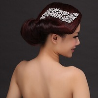 New Arrival! Floral Crystal Bridal Hair Combs Wedding Hair Accessories Hair Jewelry Christmas Gift
