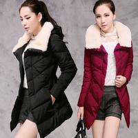 fashion women Parkas parka for women winter warm coat outwear women's jacket female